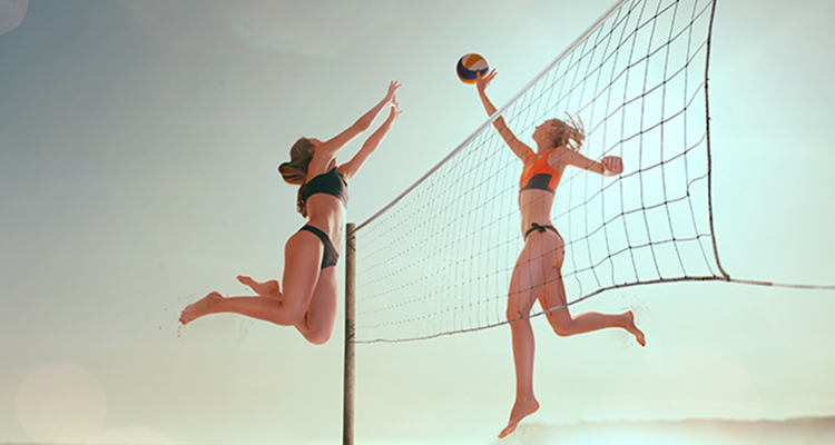 Aulas de vôlei de praia feminino acontecem em Vitória e Vila Velha
