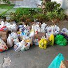 Ajustes arrecada itens para doação à instituições